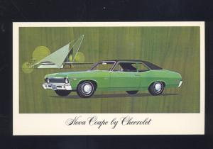1969 CHEVROLET CHEVY NOVA CAR DEALER VINTAGE ADVERTISING POSTCARD CARS