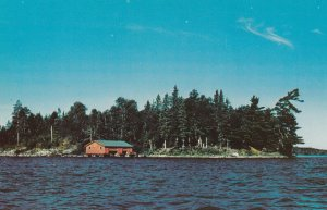 SIOUX NARROWS, Ontario, Canada, 50-60s ; Island Retreat , Long Bay