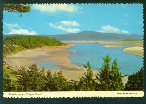 Scenic Netarts Bay Cape Lookout OREGON COAST OR Scene Beach Continental Postcard