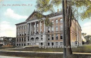 New Free Academy Utica NY 1908