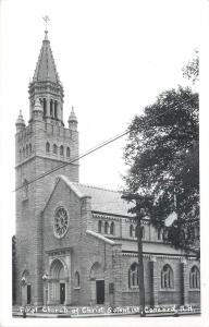 Concord New Hampshire~First Church of Christ Scientist RPPC 1950s