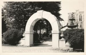 RPPC Entrance to Fountain Square Park - Bowling Green KY, Kentucky