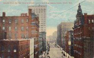 Griswold Street Looking North From Jefferson Avenue Detroit Michigan 1910