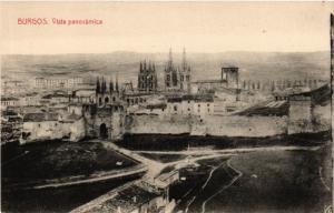 CPA Burgos Vista Panoramica SPAIN (744054)