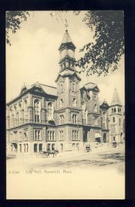 Haverhill, Massachusetts/MA/Mass Postcard, City Hall