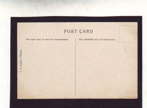 P1669 old unused postcard signal station mountains gibraltar