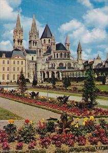 France Caen Abbaye aux Hommes fondee par Guillaume le Conquerant