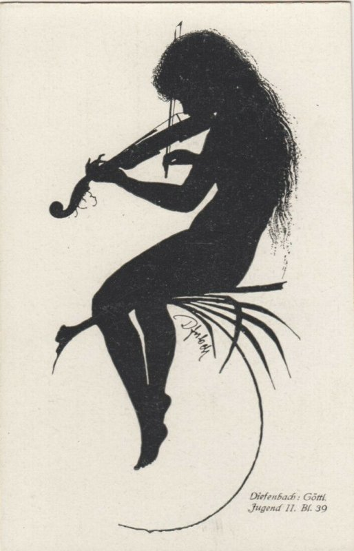 DIEFENBACH : Fantasy Silhouette , 00-10s ; Jugend II. Bl.39