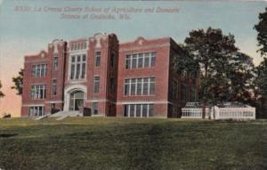 Wisconsin Onaleska La Crosse County School Of Agriculture and Domestic Science