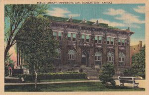KANSAS CITY , Kansas , 1930-40s ; Library