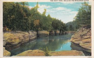 WISCONSIN, 1900-1910's; The Navy Yard, Dells Of The Wisconsin River