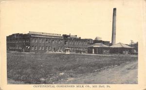 Mill Hall PA Continental Condensed Milk~Different Colors of Plasticine 1923 B&W