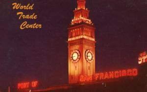 CA - San Francisco, Ferry Building at Night