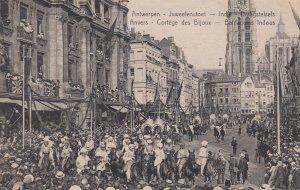 Antwerpen , Belgium , 00-10s ; Luweelenstoet , Indie - Draagstelsels