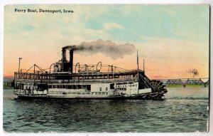 Ferry Boat, Davenport IA