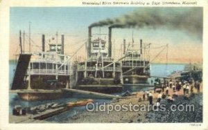 Mississippi River Steamers Ferry Boats, Ship Unused