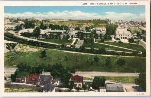 High School, San Diego, California z18