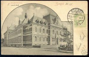 hungary, SZEGED, Kereskedelmüskola (1900) Cancel