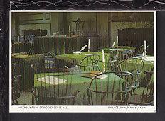 Assembly Room,Independence Hall,Philadelphia Postcard BIN