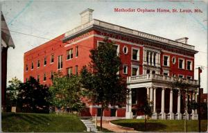 St Louis Missouri~Methodist Orphans Home~c1910 Postcard