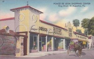 Florida St Augustine Ponce De Leon Shopping Center Woolworth