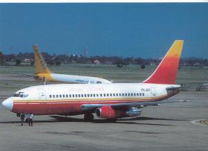 JATAYU AIRLINES, Boeing 737-236, unused Postcard