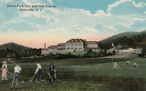 ASHEVILLE , North Carolina , 1900-10s ; Grove Park Inn & Golf Course