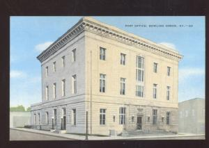 BOWLING GREEN KENTUCKY UNITED STATES POST OFFICE VINTAGE POSTCARD KY.