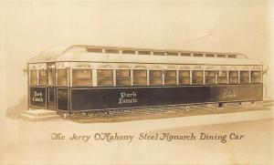 Elizabeth NJ Jerry O'Mahony Steel Monarch Diner 2 Real Photo Postcards