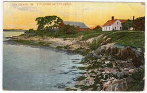 Orr's Island, Me, The Home Of The Pearl