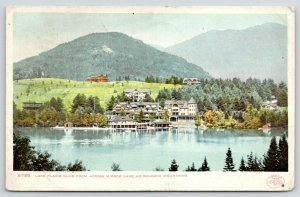 Adirondack Mountains NY~Mirror Lake~Lake Placid Club Hotel~1902 Detroit Pub Co