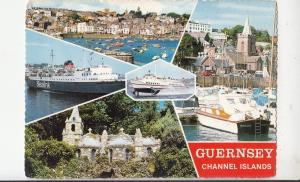 BF30689 sealink guernsey channel islands   UK   front/back image