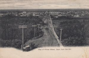 PRINCE ALBERT , Sask. , Canada , 1900-10s ; From the Hill