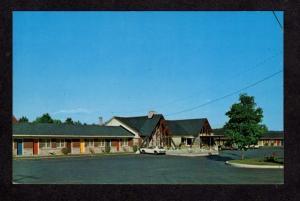 PQ Motel La Marquise Lennoxville Quebec Canada Carte Postale Postcard
