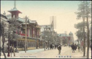 japan, YOKOHAMA, Main Street (1910s)