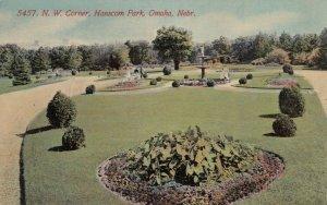 OMAHA, Nebraska , 1900-10s ;  N.W. Corner, Hanscom Park