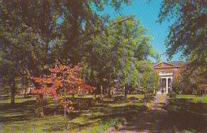Fall Scene Anderson Junior College Anderson South Carolina
