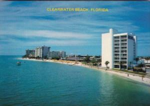 Florida Clearwater Beach Showing Hotels