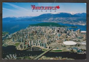 Aerial View Of Vancouver, BC, Canada - Used - Corner Wear, Creases