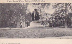Deacon Samuel Chapin Statue Springfield Massachusetts