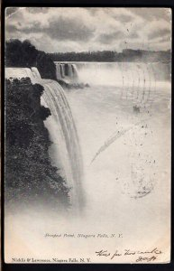 31020) New York NIAGARA FALLS Prospect Point - pm1907 - Und/B