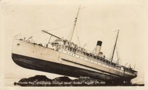 RP: SENTINEL Island , Alaska , 00-10s ; PRINCESS MAY Shipwreck #3