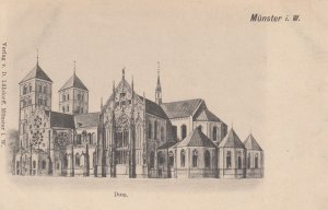 MUNSTER i. W. , Germany , 1890s ; Dom. #2