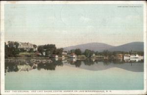 Lake Winnipesaukee NH Centre Harbor Lake Shore Detroit Publishing Postcard