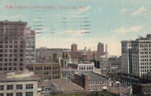 KANSAS CITY, Missouri, 1915; R.A. Long and Scarritt Buildings