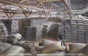 Oregon Portland Wheat In An Oregon Warehouse sk6344