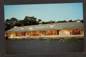 MA CAPE COD Candle Shop FALMOUTH MASS Postcard PC Massachusetts