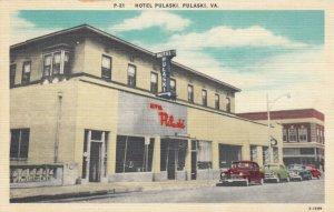 PULASKI, Virginia, 30-40s ; Hotel Pulaski