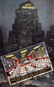 New York City Hotel New Yorker 1945