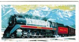 Trade Cards Brooke Bond Tea Transport Through The Ages No 19 Steam Locomotive